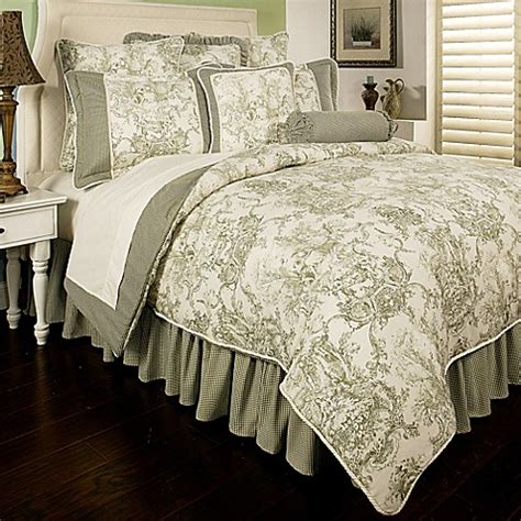sherry kline country toile reversible comforter set
