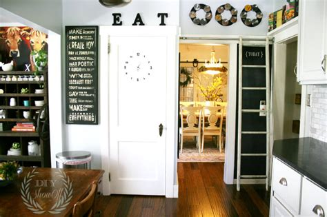 before and after farmhouse kitchen makeoverdiy show