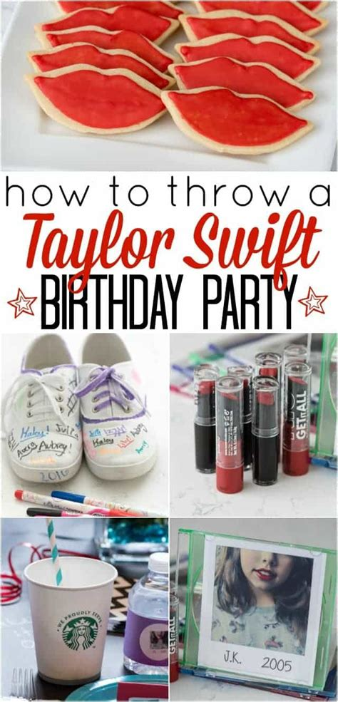 taylor swift it s my birthday how to throw a taylor swift birthday party crazy for crust