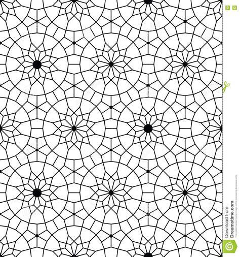 svg pattern no repeat vector seamless geometric pattern in the arabesque design
