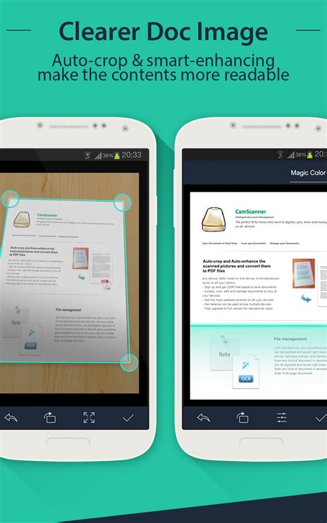 camscanner android evernote app center - Camscanner Android