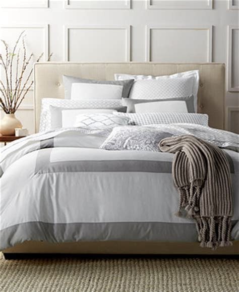 charter club bedding charter club damask designs colorblock dove full queen