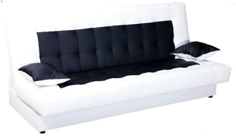 sofa mit ausziehbarem bett schlafsofa funktionssofa sofa bett incl kissen weiss