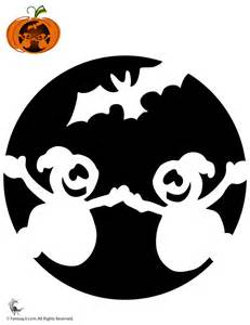 ghosts pumpkin stencil woo jr kids activities