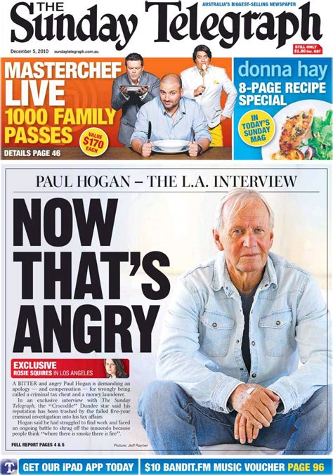 The Sunday Telegraph by Newspaper The Daily Telegraph Australia Front Pages