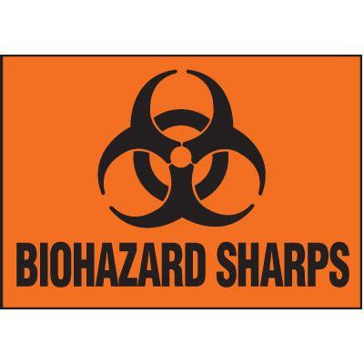 printable biohazard label image gallery sharps labels
