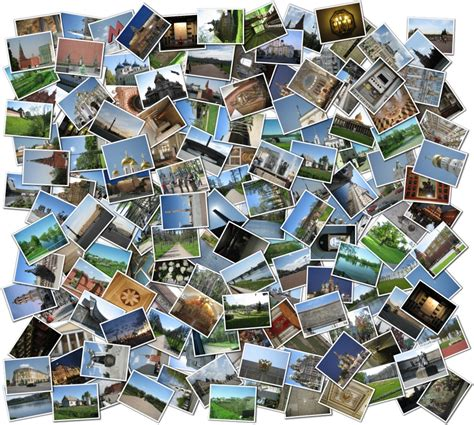 photo montage shape collage aircraft planet