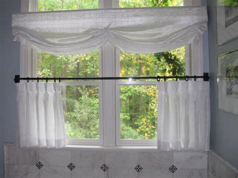 white sheer cafe curtains bathroom cafe curtains ronica s custom creations