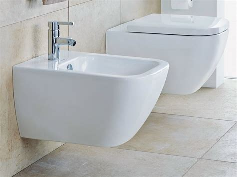 bidet duravit happy d 2 wall hung bidet by duravit design sieger design