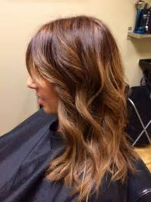 pictures of hair color chestnut hair color with honey tones hair