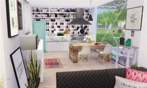Set Family Alvaro 11 my sims 4 the container house by monysims