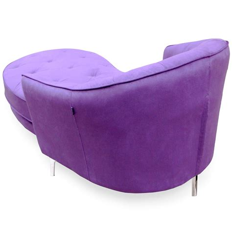 chaise lounge purple modern purple tufted victoria chaise lounge zuri furniture