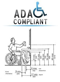 Ada Vanity Height Requirements by Ada Compliant Vanities