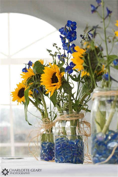sunflower arrangements ideas sunflower table arrangements on pinterest sunflower