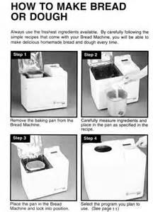 The Bread Machine Welbilt Manual Welbilt Bread Machine Model Abm4100t Welbilt Bread