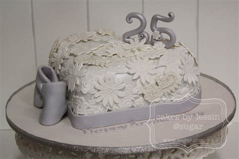 Show Me Some Wedding Cakes by 25 Years Anniversary Cake Www Pixshark Images