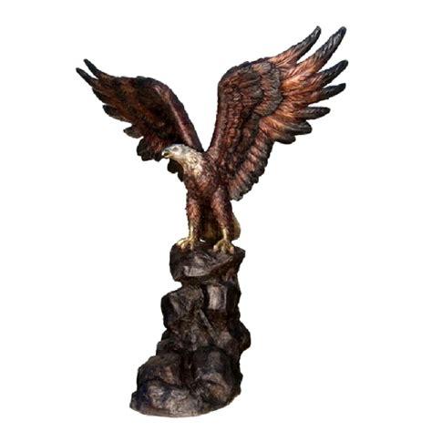 The Bronze Eagle by Bronze Eagle Sculpture Metropolitan Galleries Inc