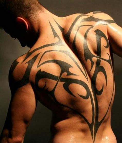 Full Back Tattoos For Men And Women Tattoo Ideas Mag Cool Back Tribal Tattoos For