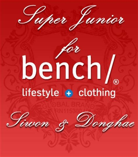 bench clothing logo bench clothing finally rides the kpop wave with super junior alexbamin3d