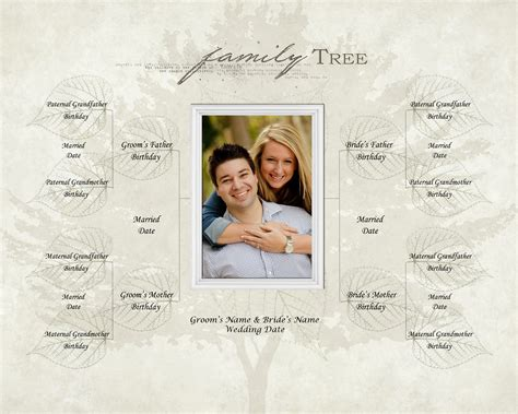 Wedding Family Tree Template family tree template family tree template high resolution