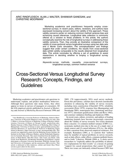 cross sectional study pdf cross sectional versus longitudinal survey research pdf