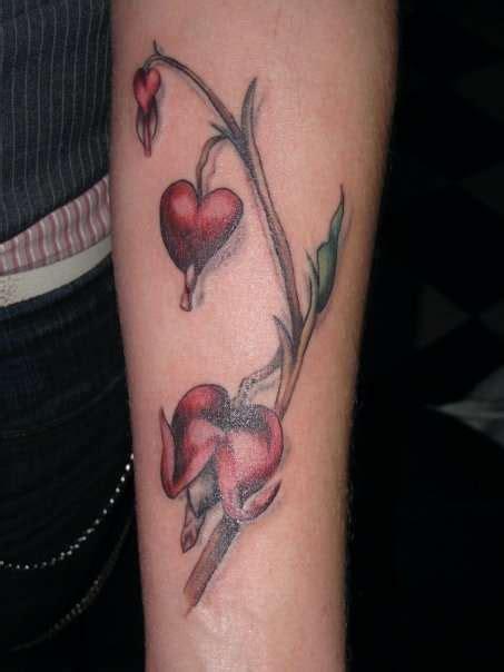 tattoo lettering bleeding bleeding hearts tattoo