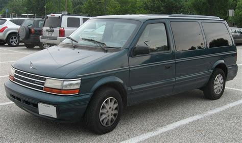1993 plymouth voyager 1993 plymouth voyager information and photos zombiedrive