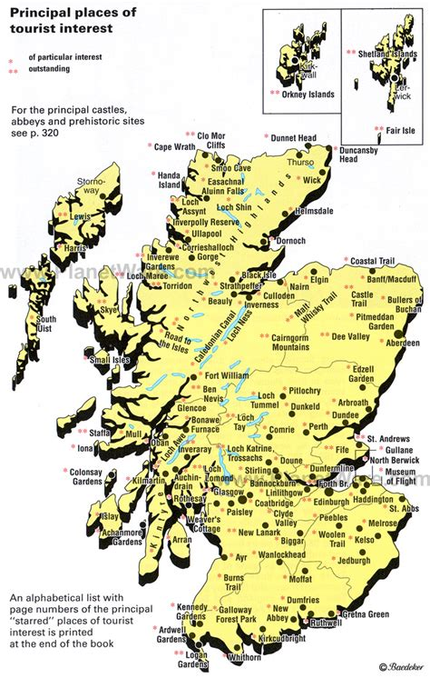 map of scotland and maps update 7001103 tourist attractions map in scotland