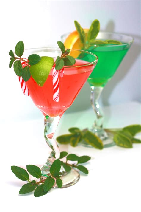 martini christmas festive holiday cocktails fresh origins