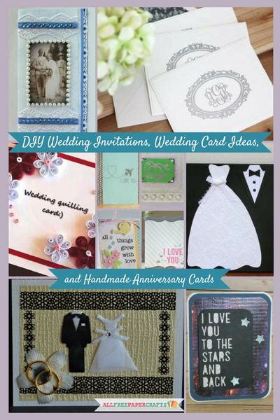 Wedding Anniversary Card Diy 17 diy wedding invitations wedding card ideas and