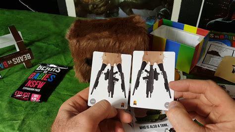 Bears Vs Babies Nsfw Expansion bears vs babies kickstarter unboxing