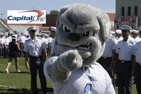 citadel bulldog challenge citadel s spike named to capital one mascot challenge