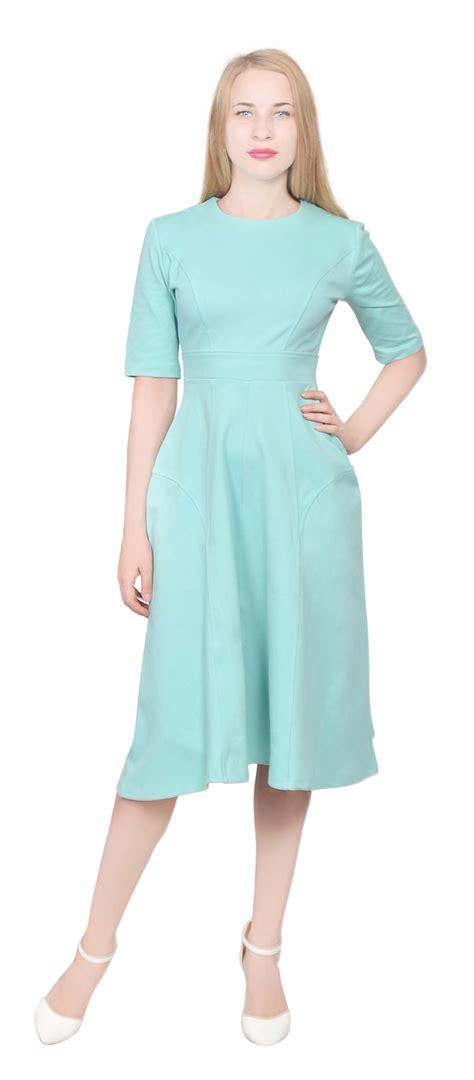 Casual Midi womens tea midi dress casual office wear to