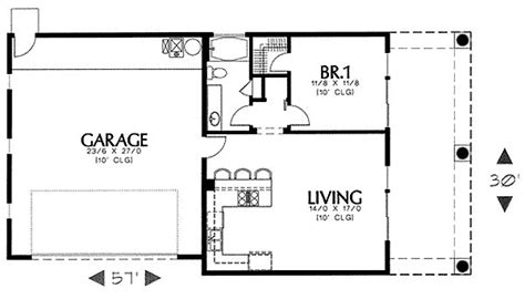 guest house plans free plan 16337md simple southwest guest house plan guest