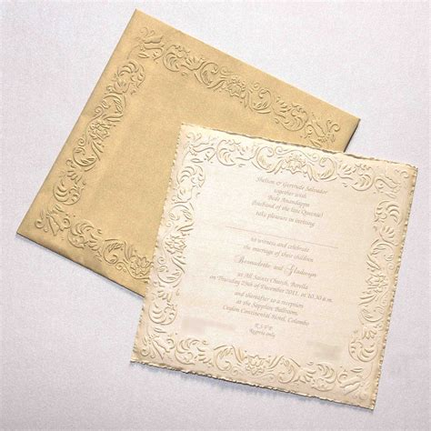 wedding invitations wording sri lanka elegance wedding invitations sri lanka
