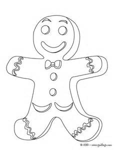 dibujo para colorear galleta de navidad ideas para el