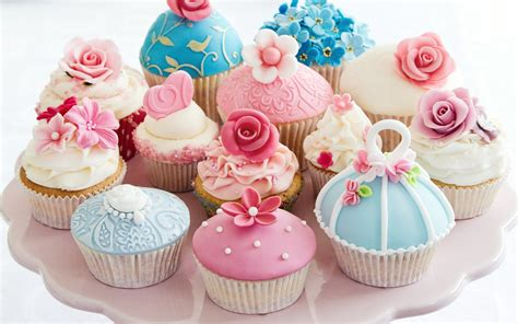wallpaper blue food cupcake full hd wallpaper and background image 2560x1600