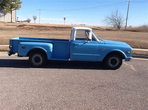 how long is a long bed truck 1968 chevy c10 long bed stepside pickup truck rare very