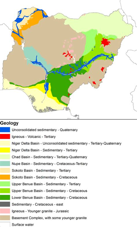 diagram of map of nigeria diagram of map of nigeria showing mineral resources choice
