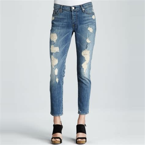 Id 1534 Ripped Denim solved ripped string