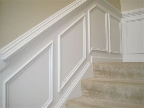 Putting Up Wainscoting by Make Your Own Quot Paneling Quot Look By Putting Moulding Up And A
