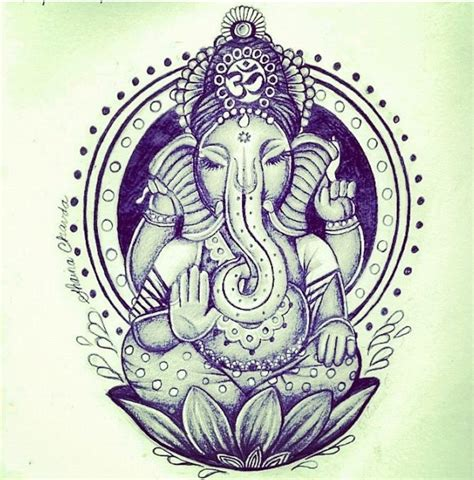 ganesha tattoo buddhist buddhist elephant on the outside pinterest