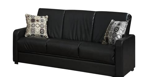 black leather sleeper couch how to buy black leather sofa online black leather