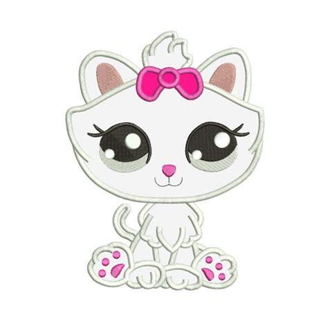littlest pet shop 01 embroidery design cat embroidery design