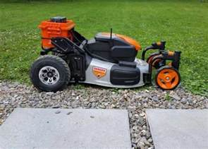lawn care gadgets tigerbot remote controlled lawn mower video geeky gadgets