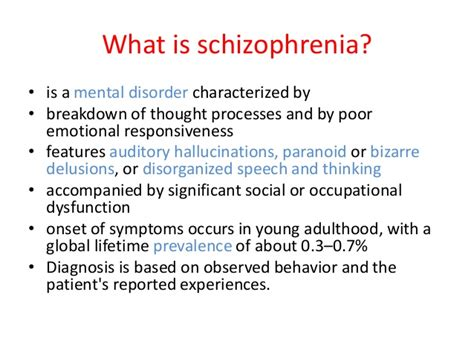 7 Signs Of A Disorganized by Schizophrenia Spectrum Disorder