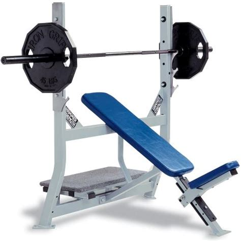 hammer bench press hammer strength olympic incline bench life fitness
