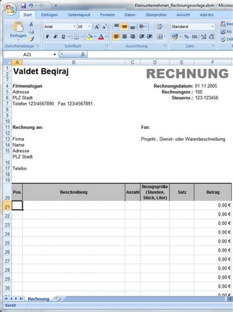 Rechnungsvorlage Word Excel Pin Rechnungsvorlage Und Rechnungsvordruck Word On