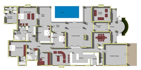 My House Plans Free Printable Ideas Double Storey Floor Home Plans