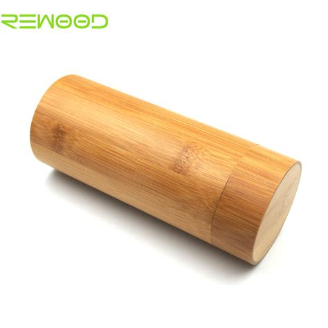 Speaker Bambu Eboy 太阳眼镜盒 木质眼镜盒 新款竹木竹制太阳 定制可印logo 阿里巴巴